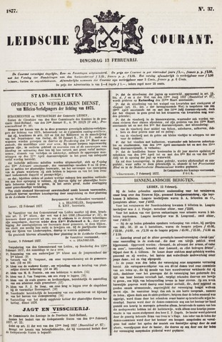 Leydse Courant 1877-02-13