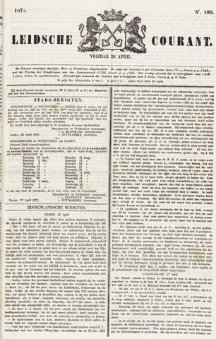Leydse Courant 1871-04-28