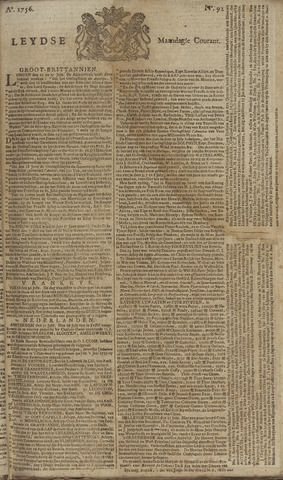 Leydse Courant 1756-08-02