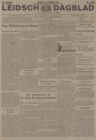 Leidsch Dagblad 1940-09-20