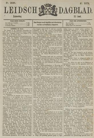 Leidsch Dagblad 1878-06-22