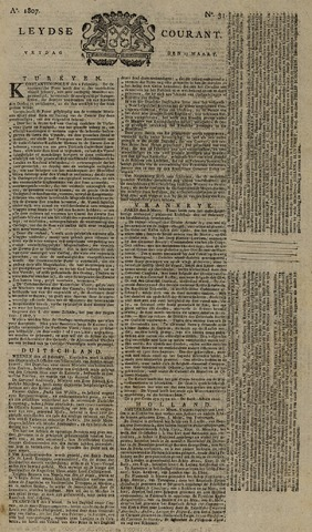 Leydse Courant 1807-03-13