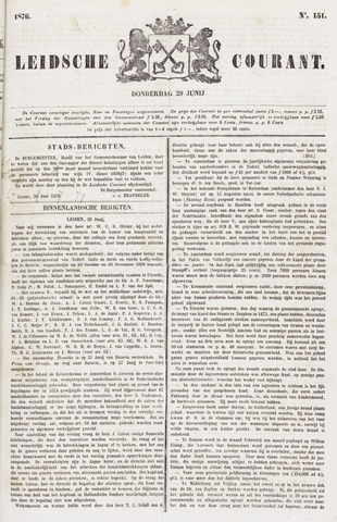 Leydse Courant 1876-06-29