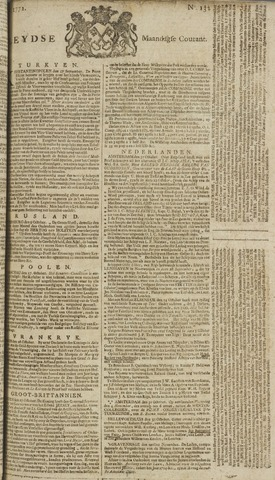 Leydse Courant 1772-11-02