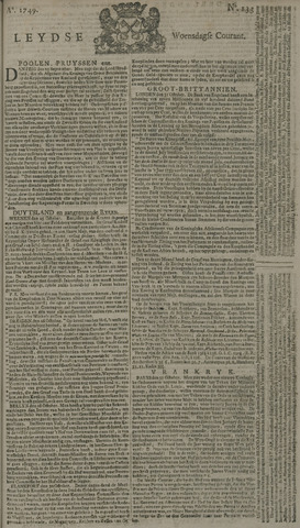 Leydse Courant 1749-11-05
