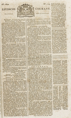 Leydse Courant 1825-08-29