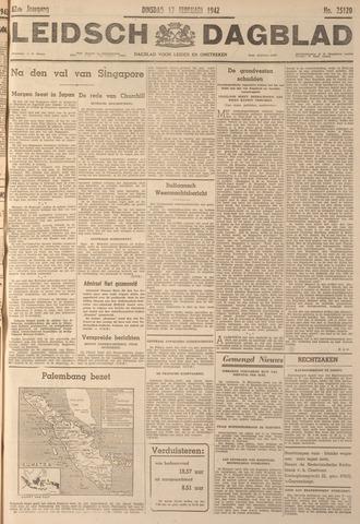 Leidsch Dagblad 1942-02-17