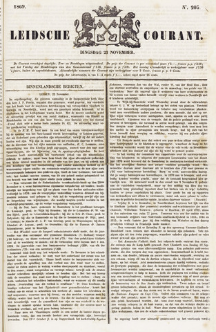 Leydse Courant 1869-11-23