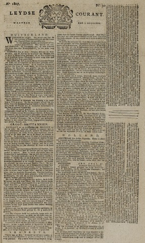 Leydse Courant 1807-08-03