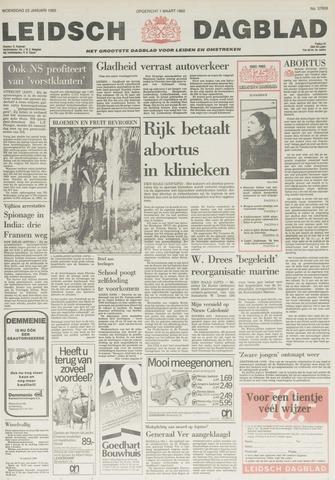 Leidsch Dagblad 1985-01-23