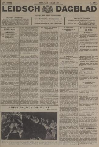 Leidsch Dagblad 1935-01-25