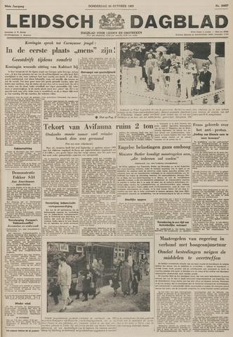 Leidsch Dagblad 1955-10-20