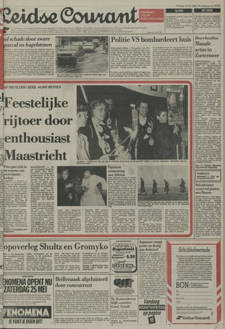 Leidse Courant 1985-05-14