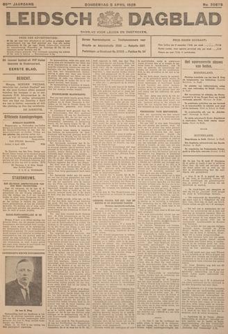 Leidsch Dagblad 1928-04-05