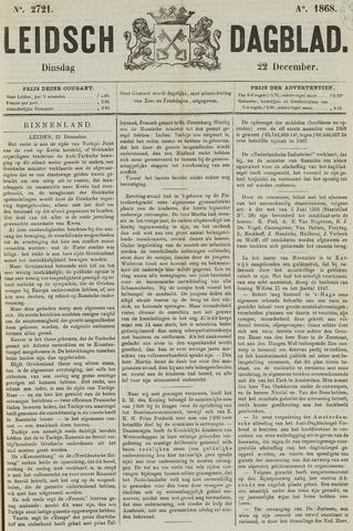 Leidsch Dagblad 1868-12-22