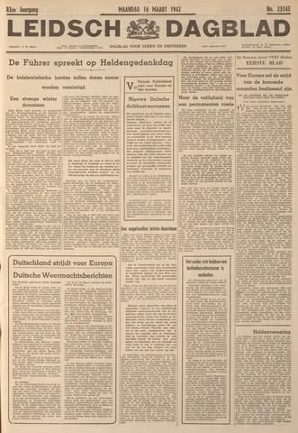 Leidsch Dagblad 1942-03-16