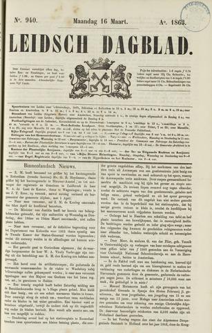 Leidsch Dagblad 1863-03-16
