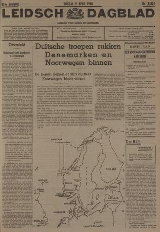 Leidsch Dagblad 1940-04-09