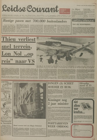Leidse Courant 1975-04-01