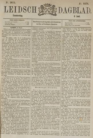 Leidsch Dagblad 1878-06-06