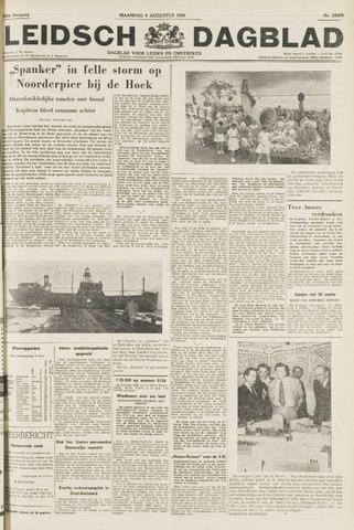 Leidsch Dagblad 1954-08-09