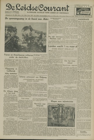 Leidse Courant 1951-08-25