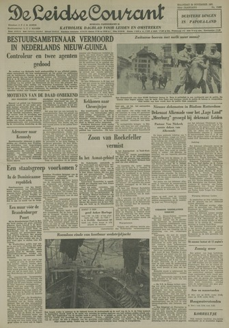 Leidse Courant 1961-11-20