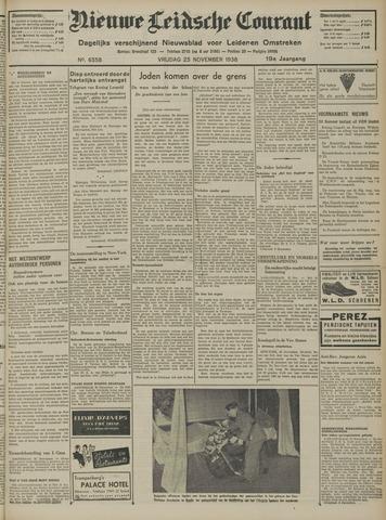 Nieuwe Leidsche Courant 1938-11-25