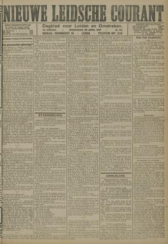 Nieuwe Leidsche Courant 1921-04-20