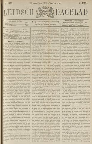 Leidsch Dagblad 1885-10-27
