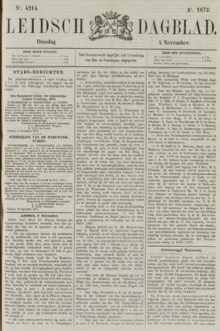 Leidsch Dagblad 1873-11-04