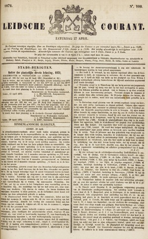 Leydse Courant 1872-04-27
