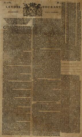 Leydse Courant 1781