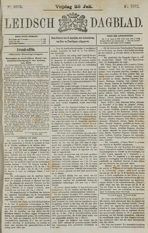 Leidsch Dagblad 1882-07-28