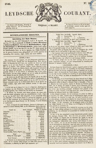 Leydse Courant 1846-03-06