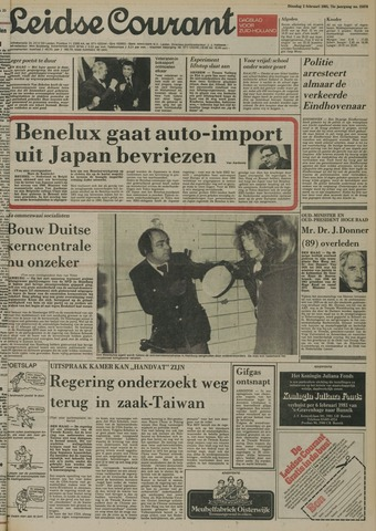 Leidse Courant 1981-02-03