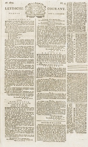 Leydse Courant 1824-01-09