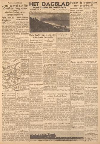 Dagblad voor Leiden en Omstreken 1944-06-24