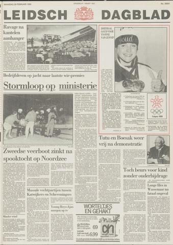 Leidsch Dagblad 1988-02-29