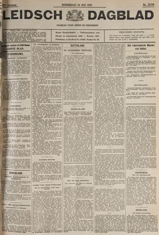 Leidsch Dagblad 1932-07-28