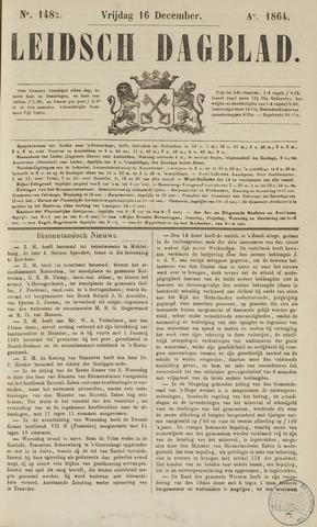 Leidsch Dagblad 1864-12-16