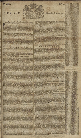 Leydse Courant 1757-08-01