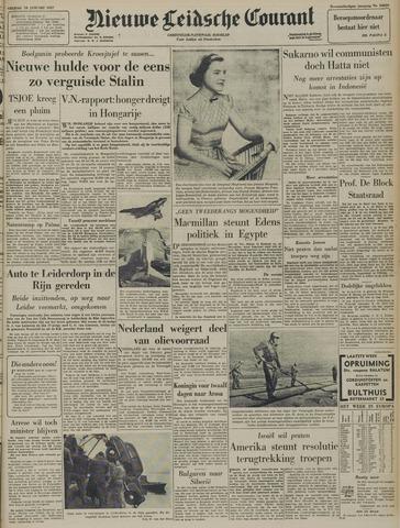 Nieuwe Leidsche Courant 1957-01-18