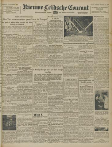 Nieuwe Leidsche Courant 1947-11-11