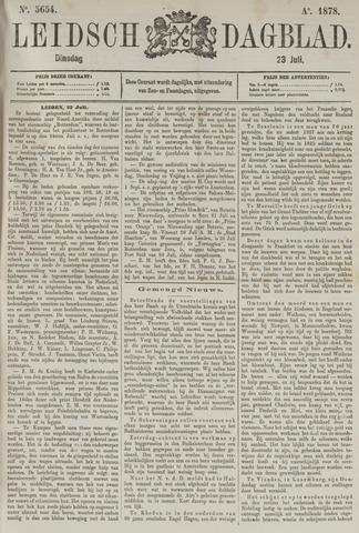 Leidsch Dagblad 1878-07-23
