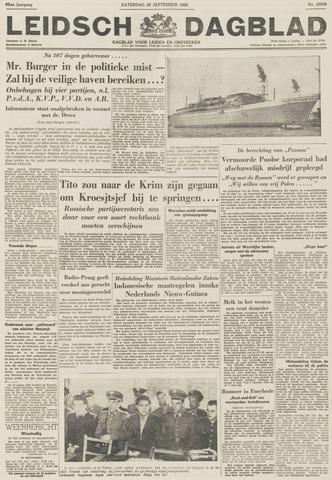 Leidsch Dagblad 1956-09-29