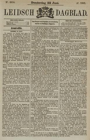 Leidsch Dagblad 1882-06-22