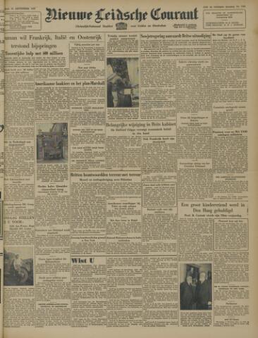 Nieuwe Leidsche Courant 1947-09-30