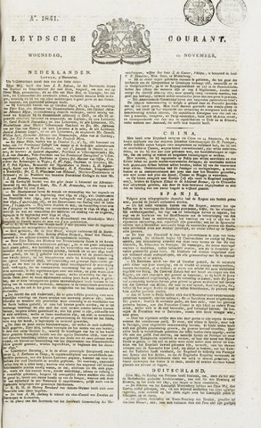 Leydse Courant 1841-11-10