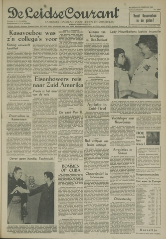 Leidse Courant 1960-02-22